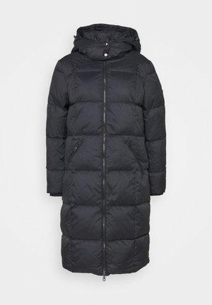 CLASSIC LONG COAT - Down coat - black