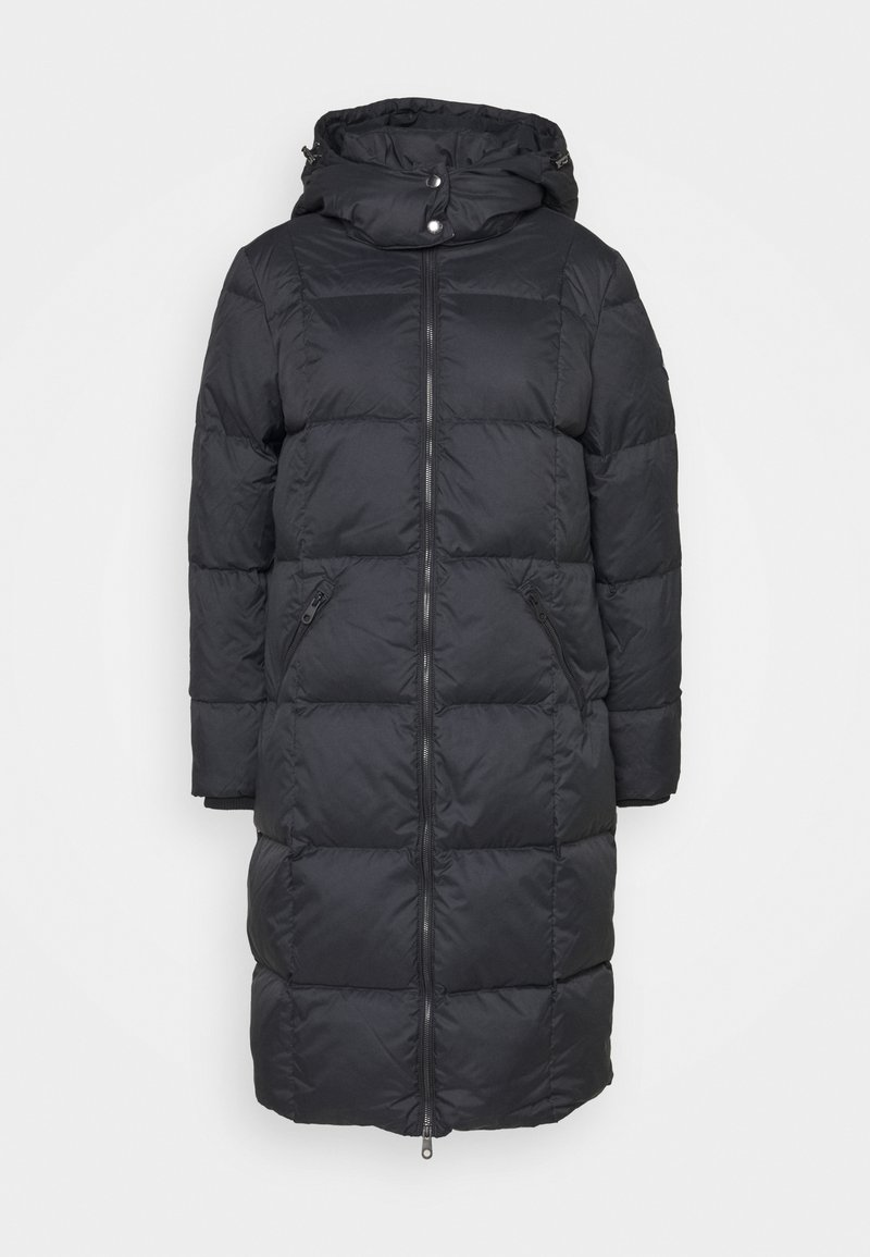 GANT - CLASSIC LONG COAT - Down coat - black