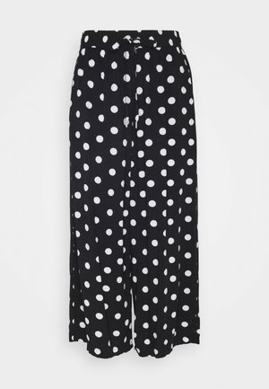 Trousers - black dot all over