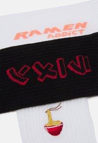 YOURTURN - RAMEN 3 PACK - Strumpor - white/black - 1