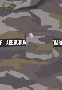 Abercrombie & Fitch - Printtipaita - khaki/grey - 2