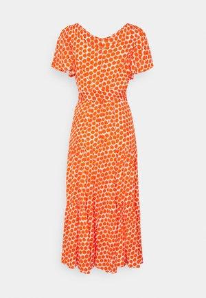 LEILA DRESS - Maxi dress - tomato red