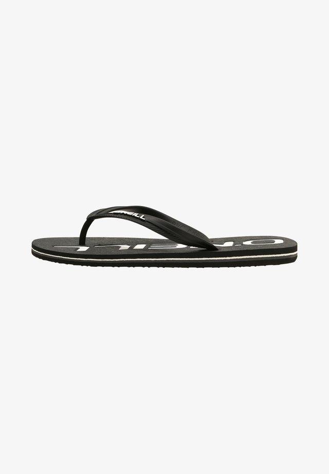 FOOTWEAR PROFILE  - Teensandalen - black out
