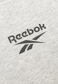 Reebok - TAPE TEE - Print T-shirt - medium grey heather - 6