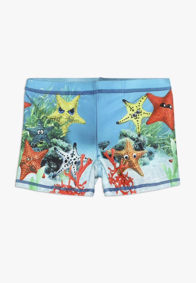 NORTON PLACED - Swimming trunks - blue