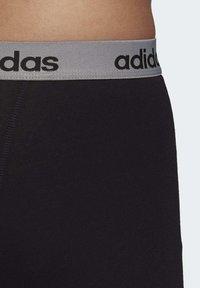 adidas Performance - BRIEFS 3 PAIRS - Panties - black - 7