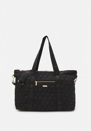 HEX CROSS BAG - Käsilaukku - black