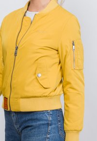 Bombers Original - ORIGINAL - Blouson Bomber - mustard yellow - 5