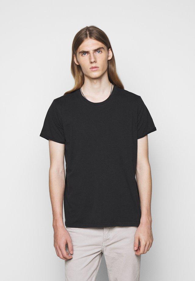 ZACH - T-shirt basic - black