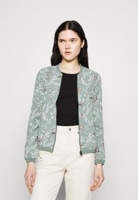 ONLY - ONLNOVA JACKET - Bomber Jacket - chinois green - 0