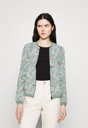 ONLNOVA LUX JACKET - Bomber bunda - chinois green