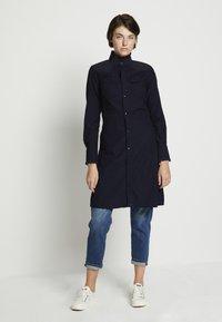 G-Star - WESTERN SLIM FRILL DRESS - Shirt dress - rinsed - 1