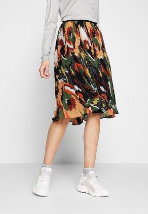 YASMALIN  SKIRT - A-line skirt - olive night