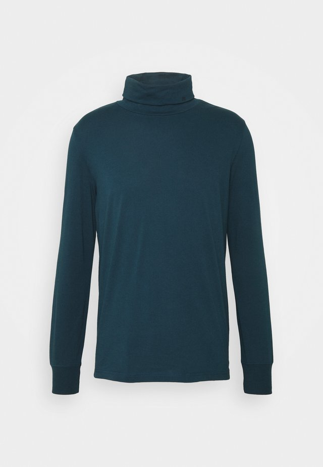 MENS ROLL NECK - T-shirt à manches longues - dark blue