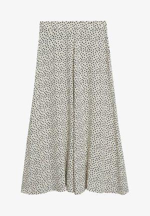 BOMBAY - A-line skirt - gebroken wit