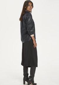 Part Two - FREYJAPW - Button-down blouse - black - 2
