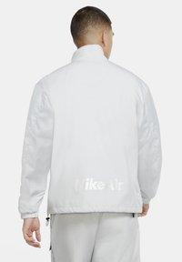 Nike Sportswear - Outdoor jacket - grey fog/black/laser blue - 2