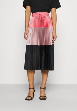 A LINE SKIRT - Pleated skirt - blush