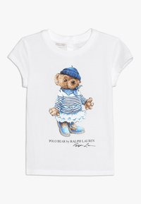 Polo Ralph Lauren - BEAR TEE - T-Shirt print - white - 0