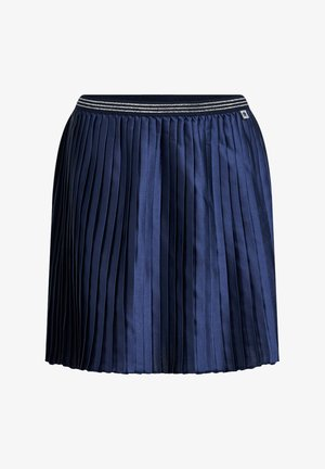 Pleated skirt - dark blue