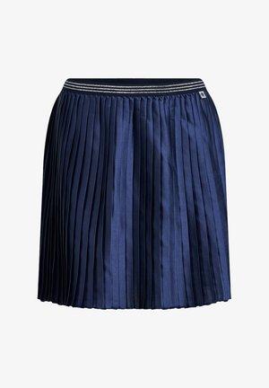 Falda plisada - dark blue