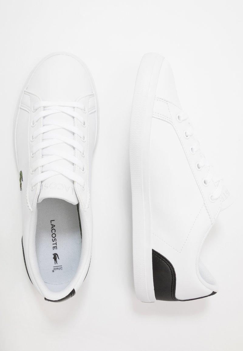 Lacoste - LEROND - Sneakers laag - white/black