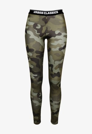 Leggings - Trousers - wood camo