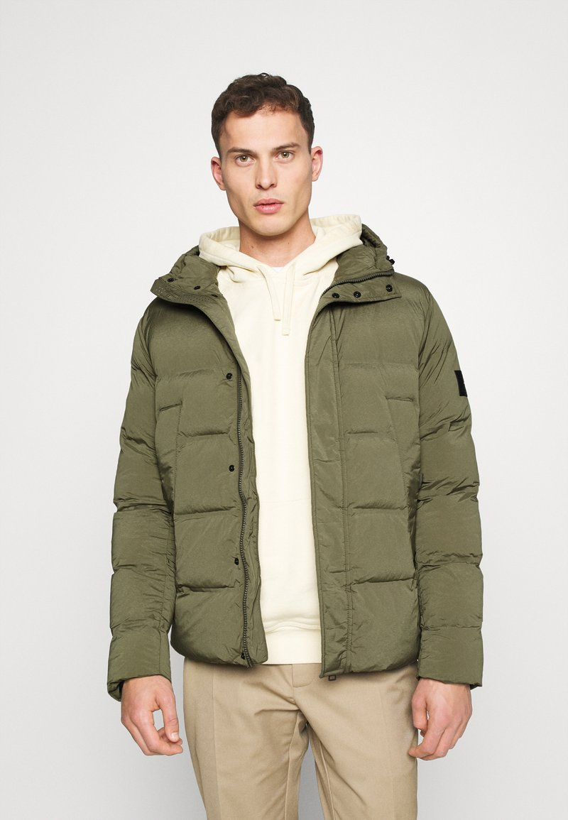 Tommy Hilfiger - HOODED STRETCH - Winter jacket - green