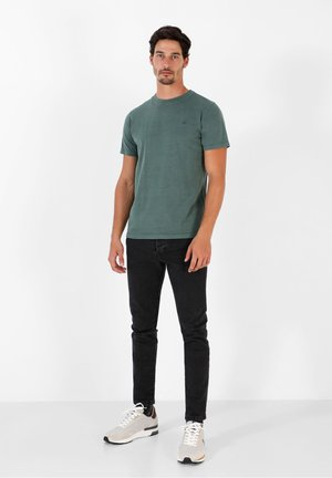 SKULL TEE - Basic T-shirt - green