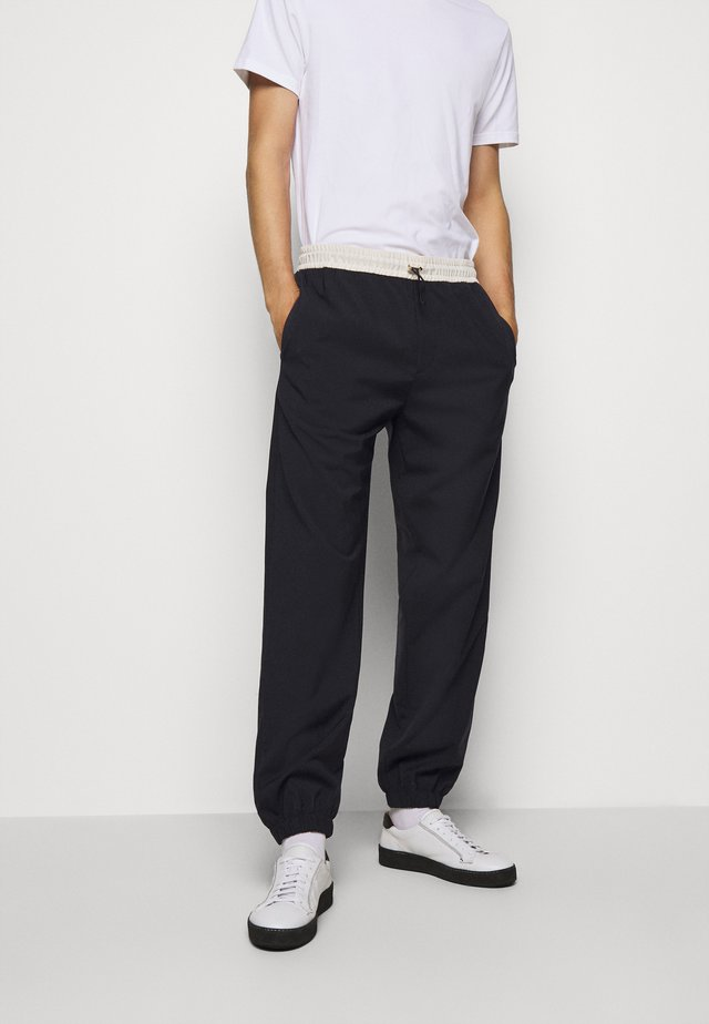 GENTS DRAWCORD TROUSER - Joggebukse - dark blue