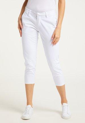 Spodnie materiałowe - weiss