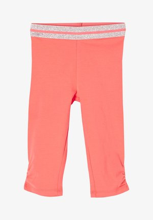 MIT ELASTIKBUND - Leggings - Trousers - coral