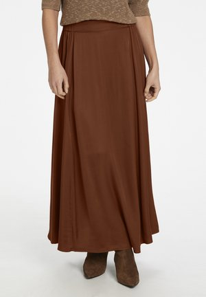 A-line skirt - chocolate glaze