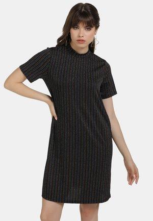 KLEID - Cocktail dress / Party dress - schwarz multicolor