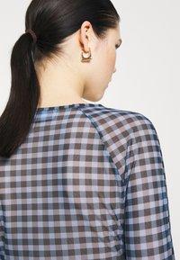 Weekday - NICOLE - Long sleeved top - blue - 5