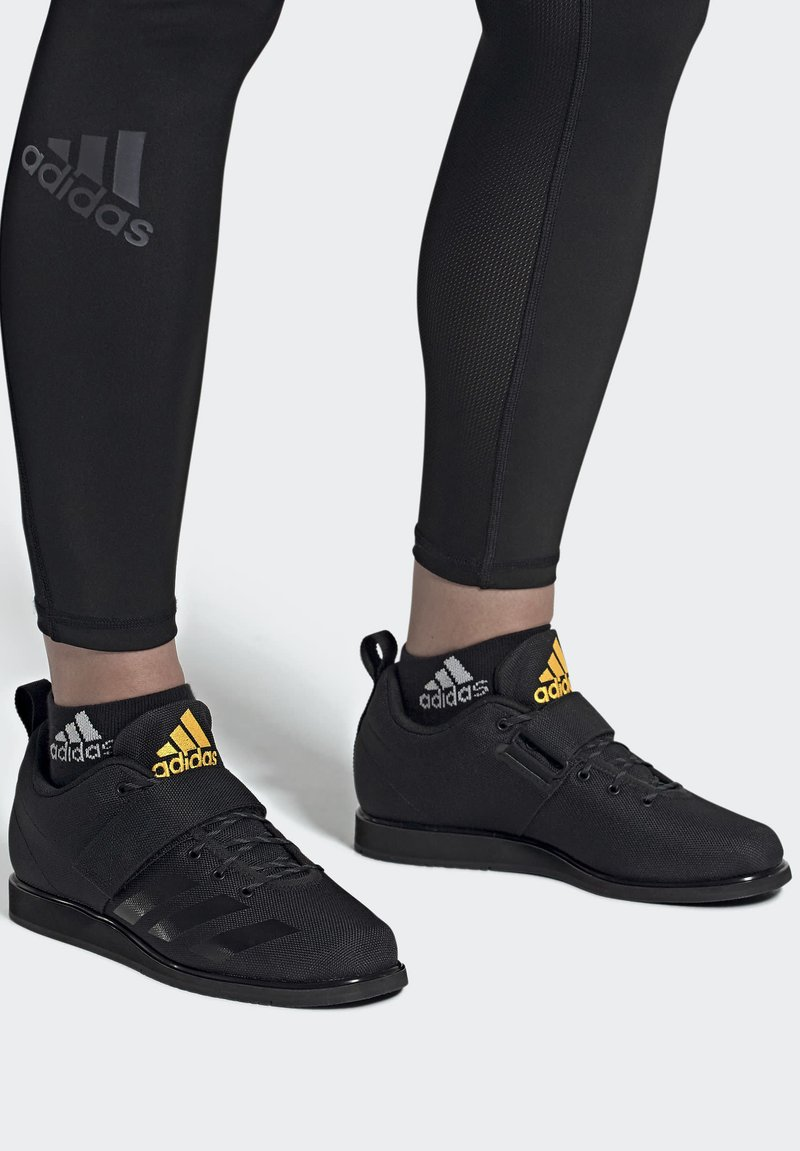 adidas Performance - POWERLIFT 4 SHOES - Sports shoes - black