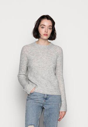 PCELLEN  O NECK - Svetr - light grey melange