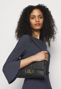 Lauren Ralph Lauren - PRINTED DRESS - Jersey dress - navy/colonial - 3