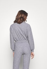 Miss Selfridge - BRUSHED ELASTIC - Sweatshirt - grey - 2
