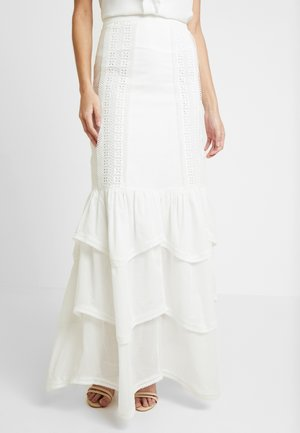 SORRENTO SKIRT - Maxi sukně - ivory