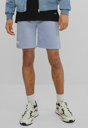 MIT PRINT - Shorts - dark blue