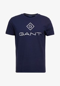 GANT - LOCK UP  - T-shirt med print - evening blue - 4