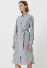 Finn Flare - Shirt dress - white - 3