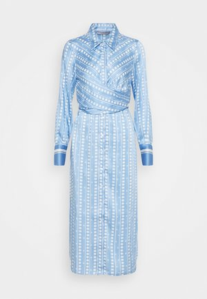 PINETA - Skjortklänning - azzurro