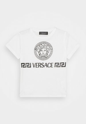 MEDUSA GREEK UNISEX - Print T-shirt - white/black