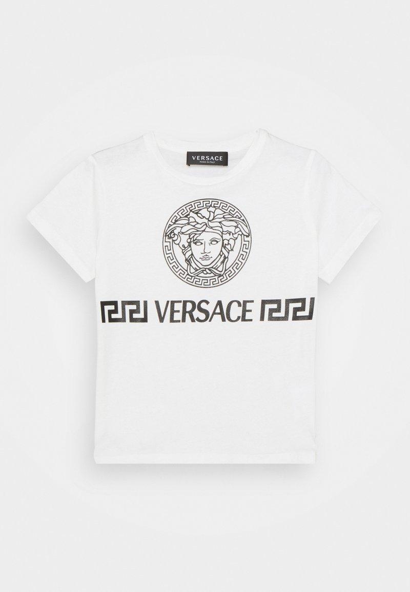 Versace - MEDUSA GREEK UNISEX - Triko spotiskem - white/black
