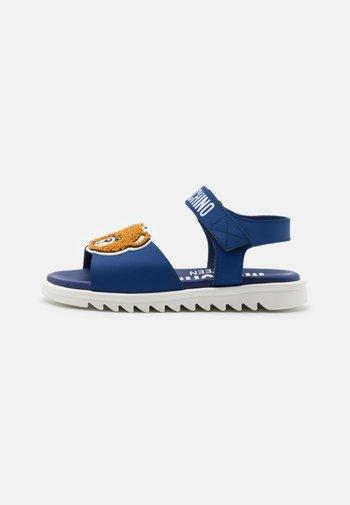 UNISEX - Sandals - blue