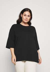 Noisy May Curve - NMHAILEY  - Basic T-shirt - black - 0