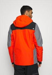 Quiksilver - MISSION PLUS - Snowboard jacket - pureed pumpkin - 2