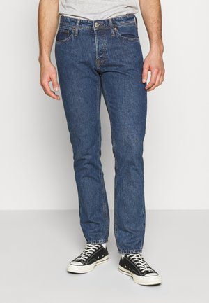 JJIMIKE JJORIGINAL - Jeansy Slim Fit - blue denim